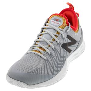Men`s LAV D Width Tennis Shoes Gray and Mulitcolor
