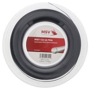 MSV Co Ultra 1.2mm/17G Tennis String Reel Black