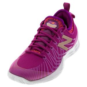 Women`s LAV B Width Tennis Shoes Mulberry and Thistle