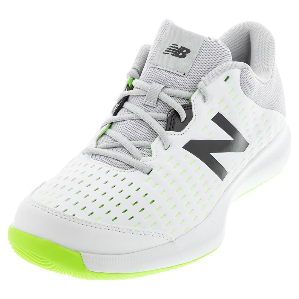 696v4 2E Width Tennis Shoes White