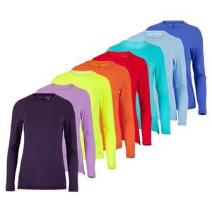 Women`s UV Long Sleeve Tennis Top