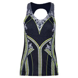 Women`s Lace Yourself Tennis Tank with Bra