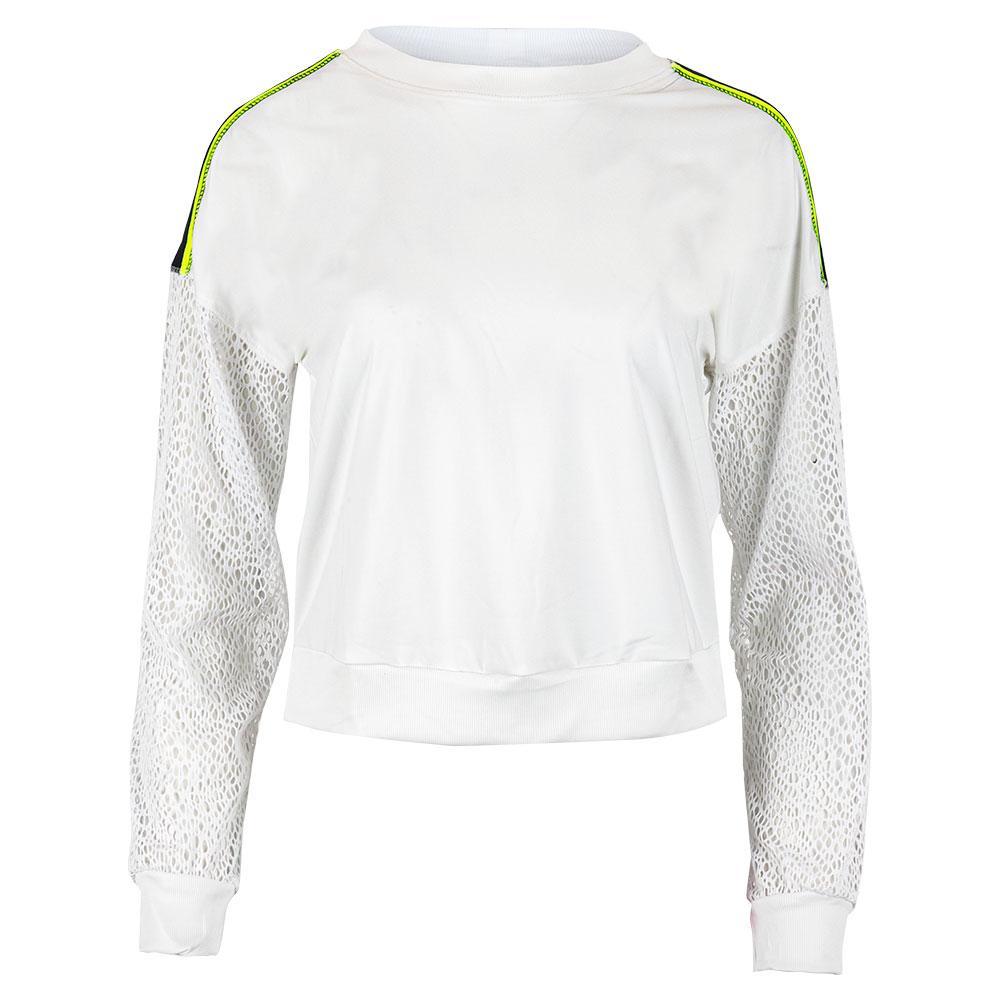 Women's In The Net Long Sleeve Tennis Pullover