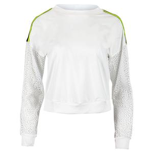 Women`s In the Net Long Sleeve Tennis Pullover