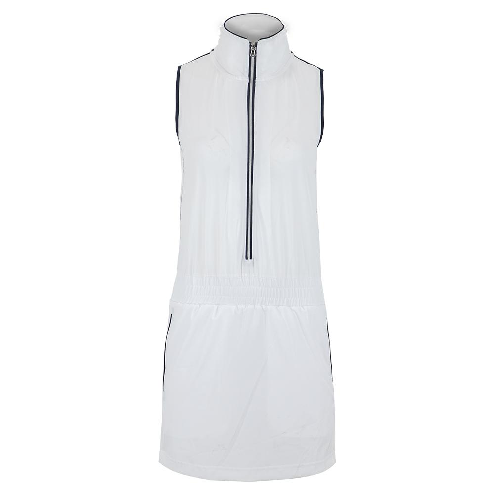 Women's Blythe Tennis Dress White And Midnight