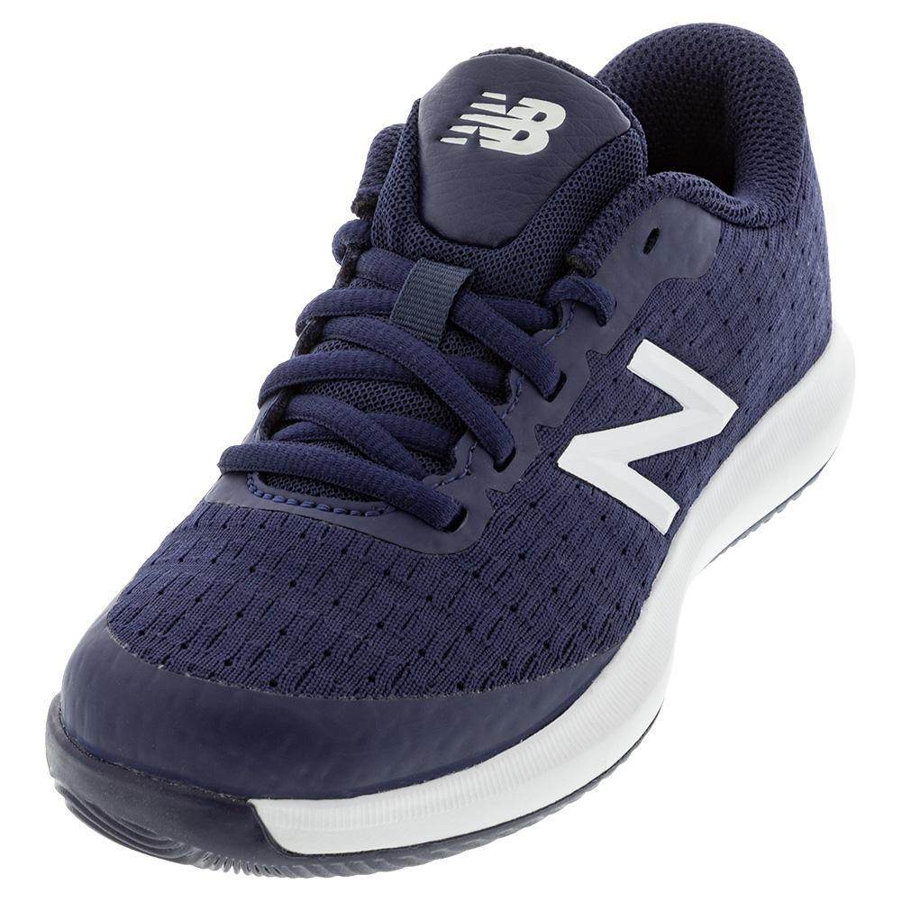 New Balance Juniors` 996v4 Tennis Shoes