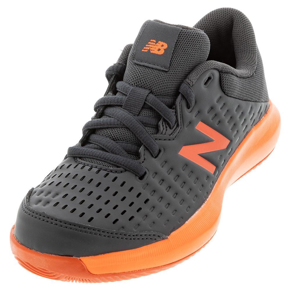 Juniors ` 696v4 Tennis Shoes Black And Dynomite