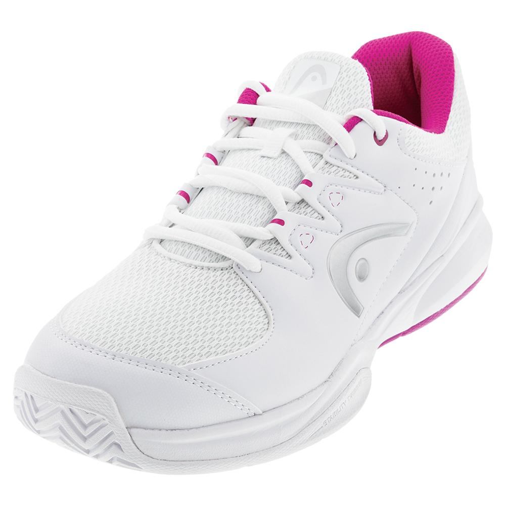 Women's Brazer 2.0 Tennis Shoes White And Violet
