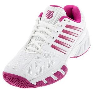 Women`s Bigshot Light 3 Tennis Shoes White and Cactus Flower