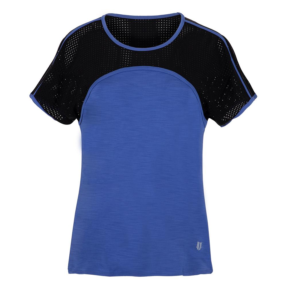 Women's Astrix Tennis Top Sapphire Blue