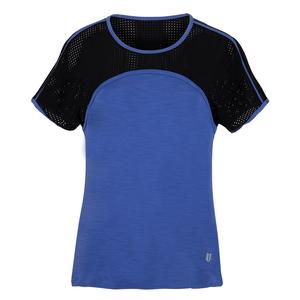 Women`s Astrix Tennis Top Sapphire Blue