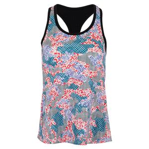 Women`s Race Day Tennis Tank Top Camo