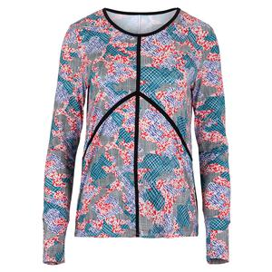 Women`s Victory Long Sleeve Tennis Sunshirt Camo