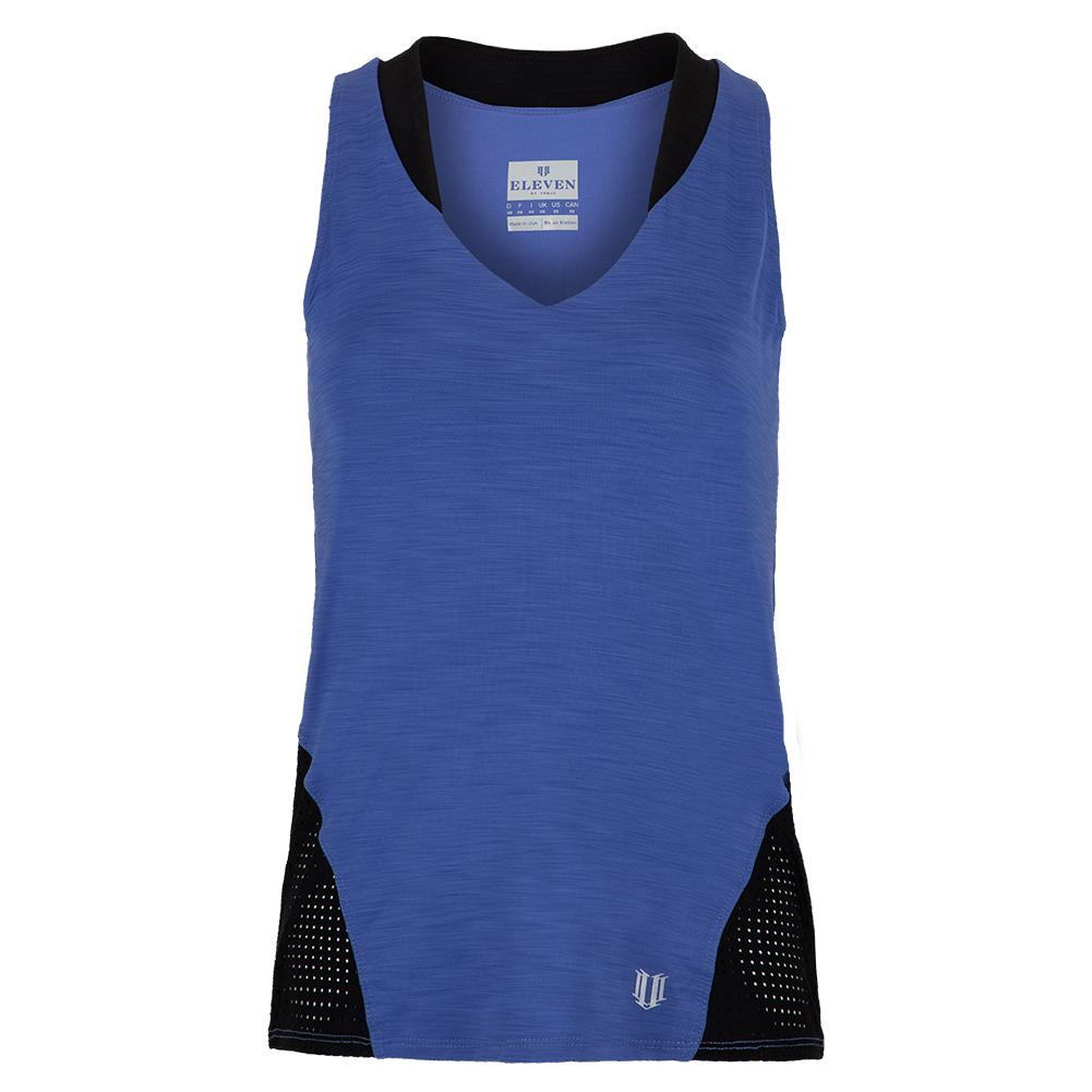 Women's True Love Tennis Tank Top Sapphire Blue