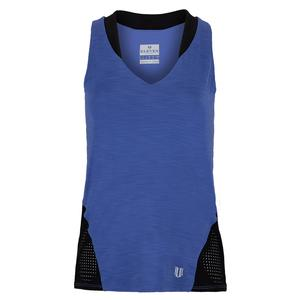 Women`s True Love Tennis Tank Top Sapphire Blue