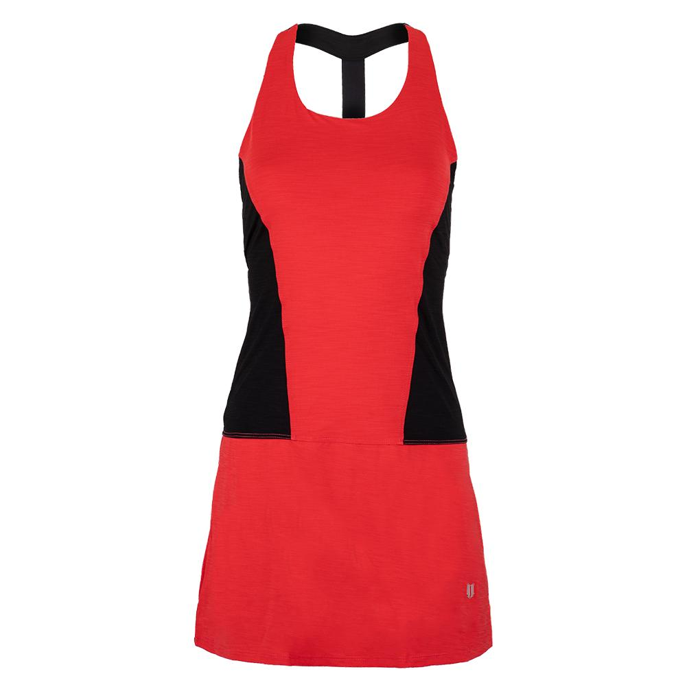 Women's Dynamo Tennis Dress Hibiscus