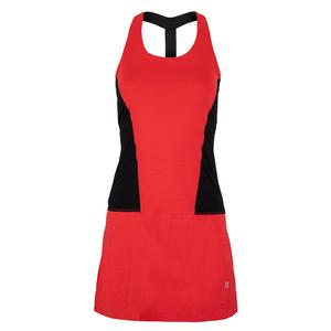 Women`s Dynamo Tennis Dress Hibiscus