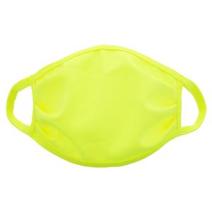 Kids` Face Mask Neon Yellow