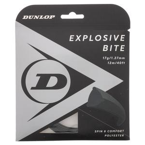 Explosive Bite Black 17G Tennis String