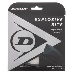 Explosive Bite Black 16G Tennis String