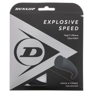 Explosive Speed Black 16G Tennis String