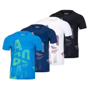 Men`s Exercise Big Babolat Tennis Tee