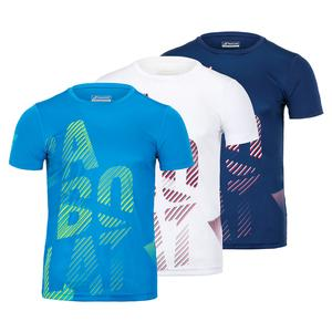 Boys` Exercise Big Babolat Tennis Tee