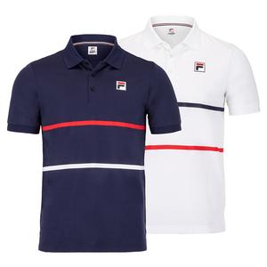 Men`s Heritage Stripe Tennis Polo