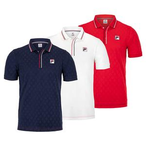 Men`s Heritage Jacquard Tennis Polo