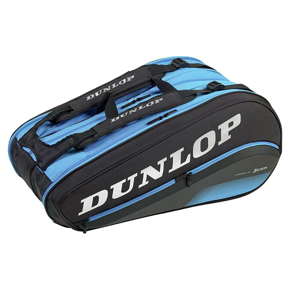 Fx Performance 12 Pack Tennis Bag Black And Blue