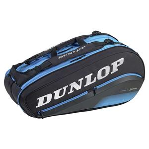 FX Performance 8 Pack Tennis Bag Black and Blue