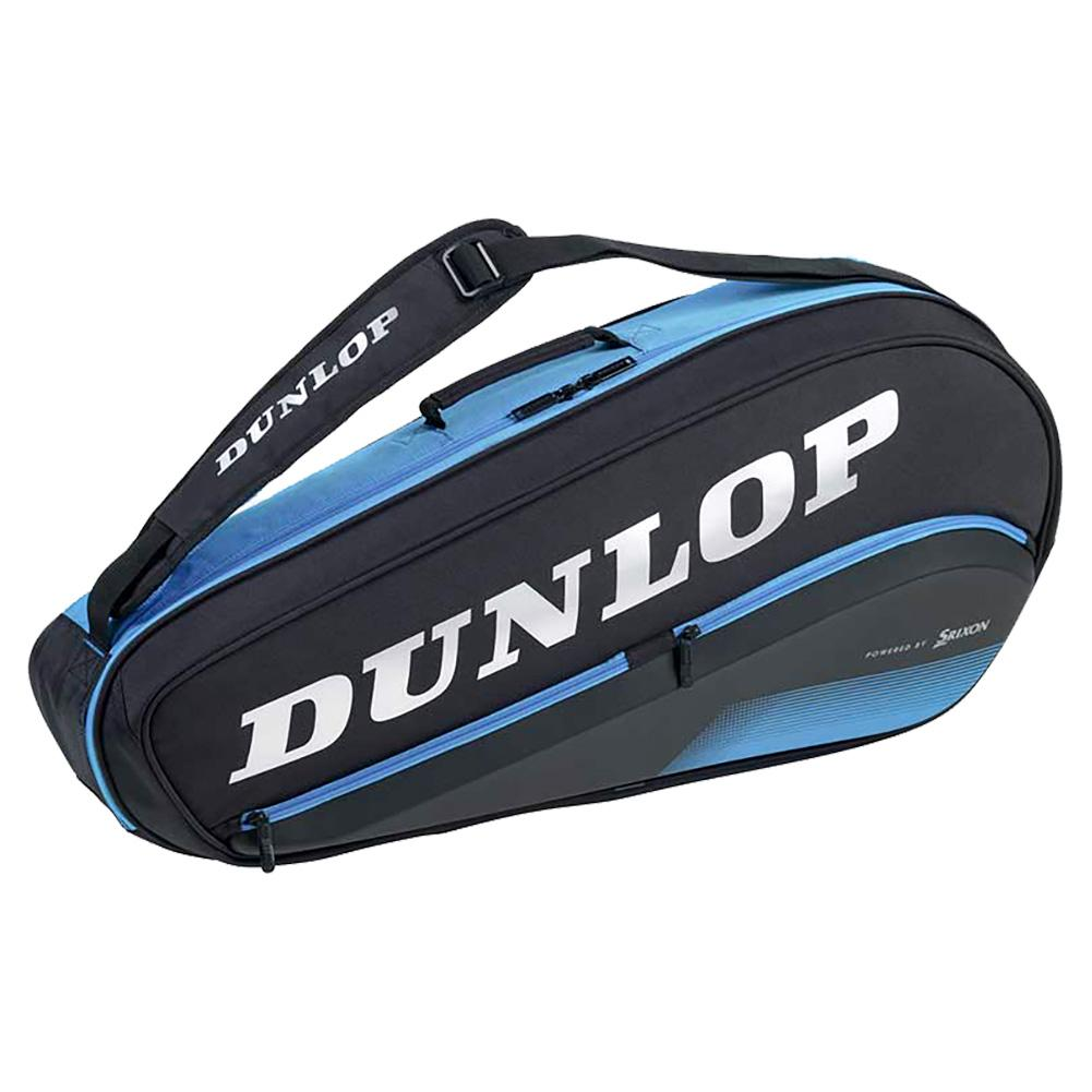 Fx Performance 3 Pack Tennis Bag Black And Blue