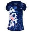 Women`s Exercise Graphic Tennis Tee 4000_ESTATE_BLUE