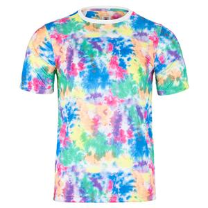 Men`s Top Spin Printed Tennis Crew Tie Dye