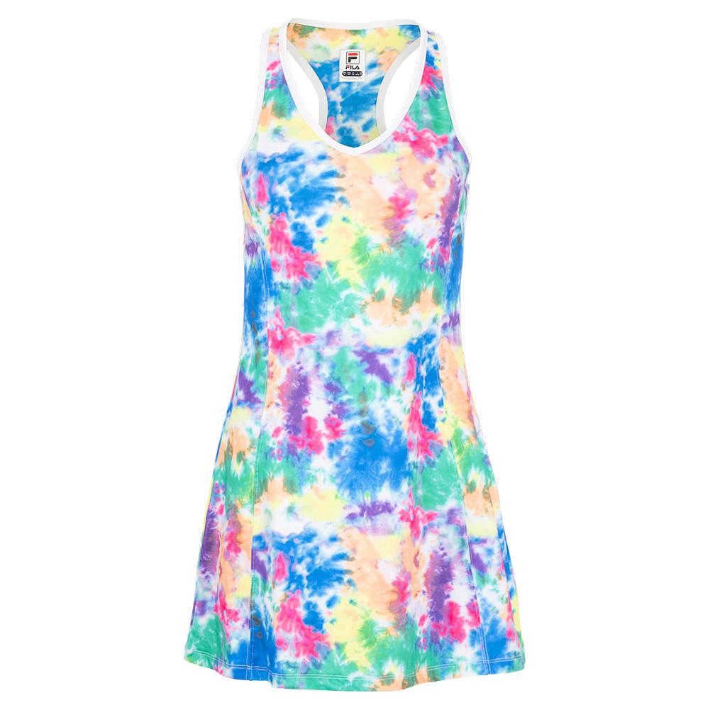 Women's Top Spin Tennis Dress Tie Dye