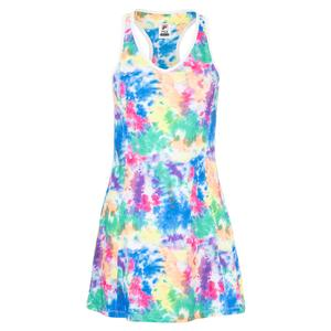 Women`s Top Spin Tennis Dress Tie Dye