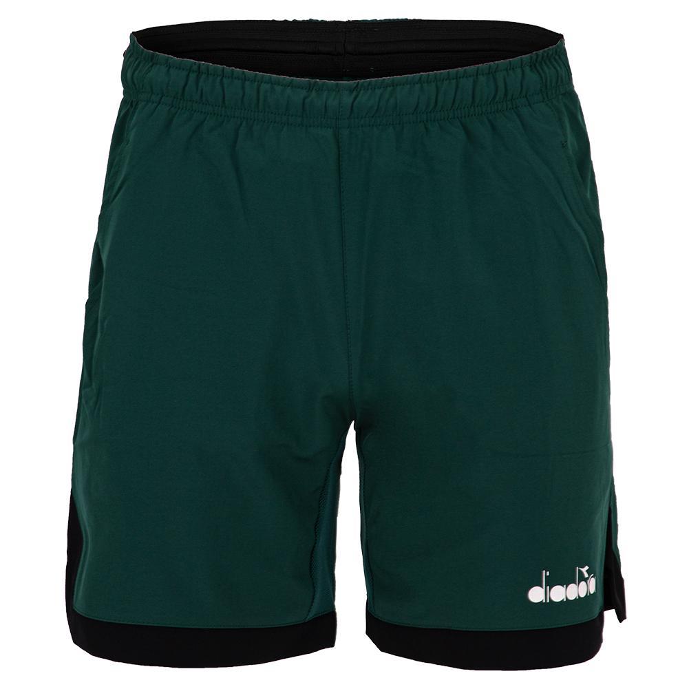Men's Bermuda Micro Tennis Short Green Bistro