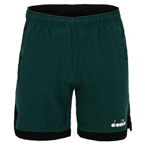 Men`s Bermuda Micro Tennis Short Green Bistro