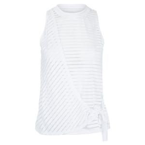 Women`s Monica Sleeveless Tennis Top Chalk