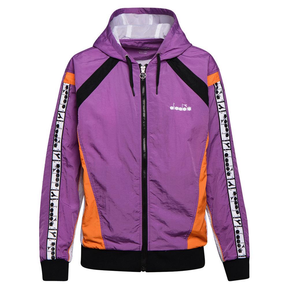 Women's Full Zip Hd Tennis Jacket Violet Zircon
