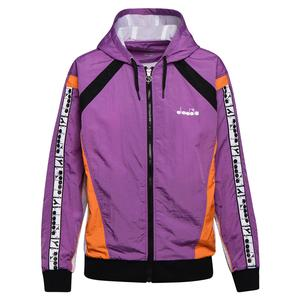 Women`s Full Zip HD Tennis Jacket Violet Zircon