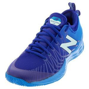 Women`s Fresh Foam LAV D Width Tennis Shoes Vision Blue and Bali Blue