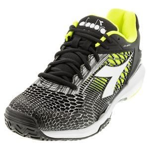 Men`s Speed Competition 5 + AG Tennis Shoes Black and White