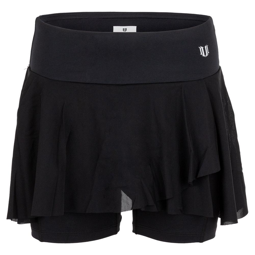 Women's Outskirt 9 Inch Tennis Shortie Black