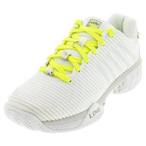 Women`s Hypercourt Express 2 X LiL Tennis Shoes White and Vibrant Orange