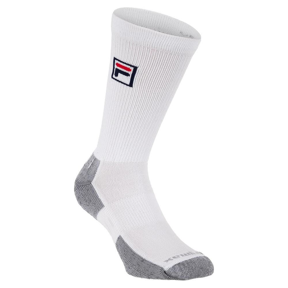 Crew Tennis Socks White