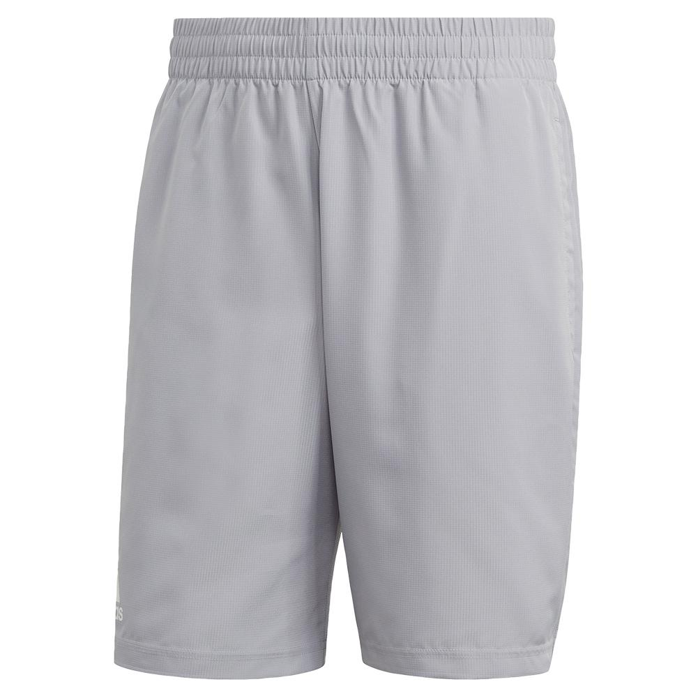 Men's Club 9 Inch Tennis Short Glory Grey
