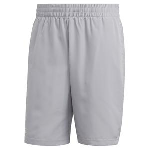 Men`s Club 9 Inch Tennis Short Glory Grey