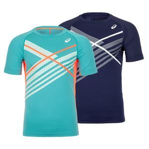 Men`s Club Graphics Tennis Top