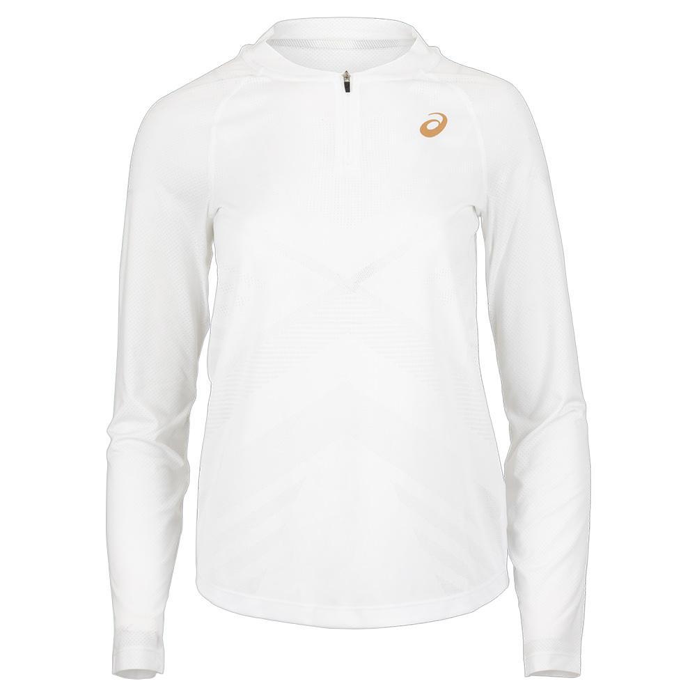 Women's Long Sleeve Pr Tennis Top Brilliant White